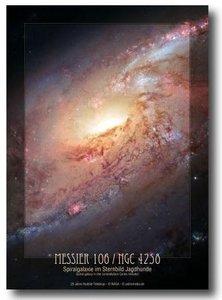 pooster spiraalgalaxy mesier 106